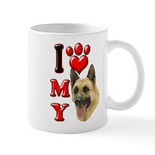 I Love My German Shepherd.png Mug