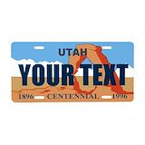 Utah License Plates