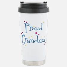 Proud Grandma Stainless Steel Travel Mug