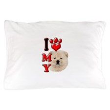 I Love My Chow Chow.png Pillow Case