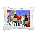Piano throw pillow Throw Pillows