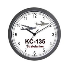 KC-135 Stratotanker Wall Clock