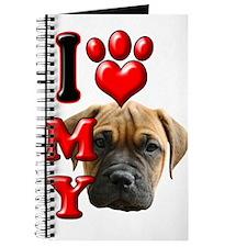 I Love My Bull Mastiff.png Journal