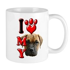 I Love My Bull Mastiff.png Mug