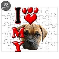 I Love My Bull Mastiff.png Puzzle