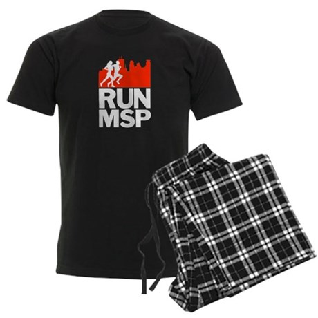 RUN MINNEAPOLIS Men's Dark Pajamas