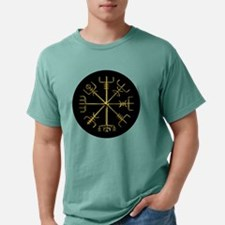 Gold Vegvisir O Mens Comfort Colors Shirt