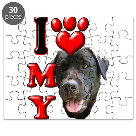 I Love My Black Lab.png Puzzle
