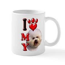 I Love My Bichon Frise.png Mug