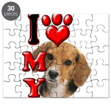 I Love My Beagle.png Puzzle