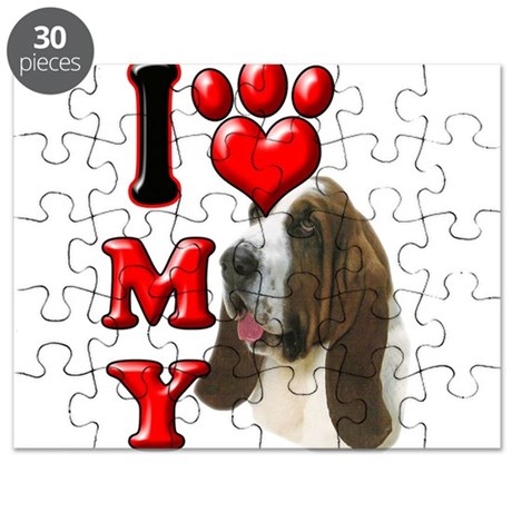 I Love My Bassett Hound.png Puzzle