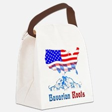 American Bavarian Roots Canvas Lunch Bag