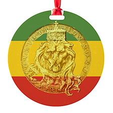 Rasta Lion of Judah Ornament