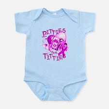 Pitties for Titties Infant Bodysuit