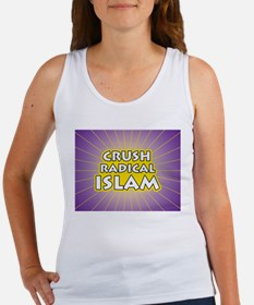 Crush Radical Islam Women's Tank Top