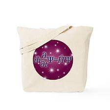 Starry Schrodinger Tote Bag