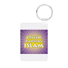 Crush Radical Islam Keychains