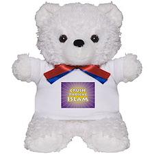 Crush Radical Islam Teddy Bear