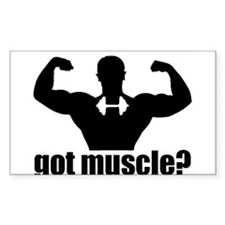 Got Muscle? Poser Decal