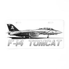F14 Tomcat Aluminum License Plate