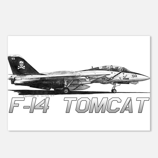 F14 Tomcat Postcards (Package of 8)