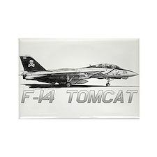 F14 Tomcat Rectangle Magnet