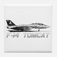 F14 Tomcat Tile Coaster