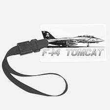 F14 Tomcat Luggage Tag