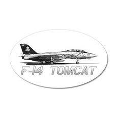 F14 Tomcat Wall Decal