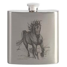 Coming Through Horse Flask