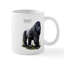 Mountain Gorilla Small Mugs