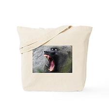 baboon yawn kenya collection Tote Bag