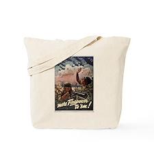 MORE FIREPOWER TO 'EM Tote Bag