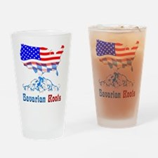 American Bavarian Roots Drinking Glass