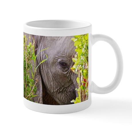 elephant eye in the bush kenya collection Mug