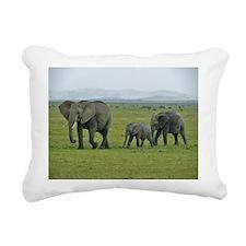 mara elephant family kenya collection Rectangular