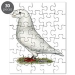 White Show Racer Puzzle