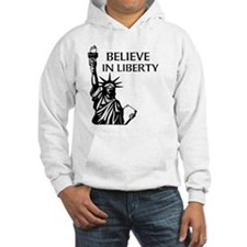 Believe in Liberty Hooded pull over.