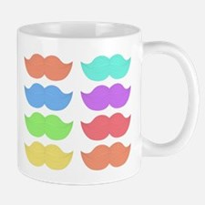 Rainbow Mustaches Mug