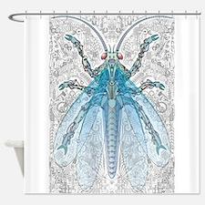 Robo-Bug Shower Curtain
