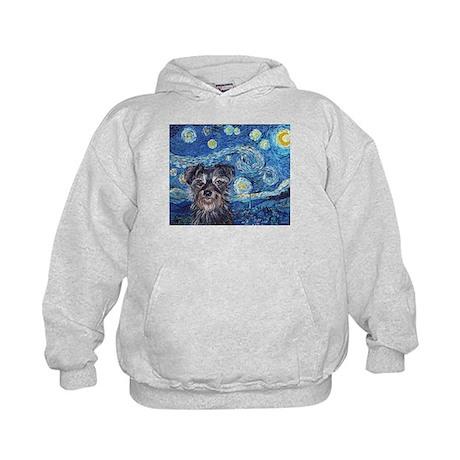 """""""Starry Night Cruiser"""" Kids Hoodie"""