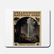 YELLOWSTONE5 Mousepad