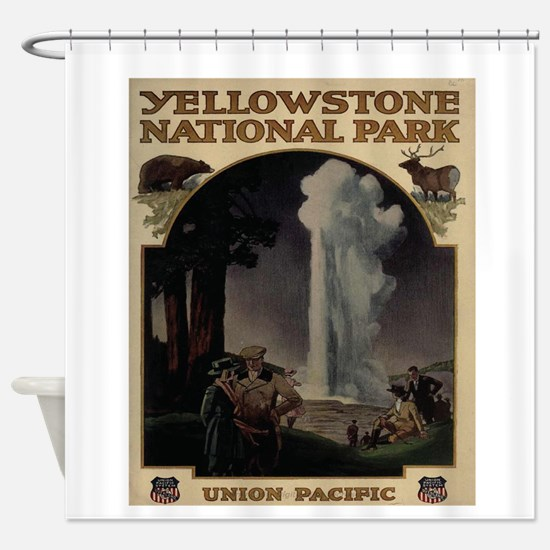 YELLOWSTONE5 Shower Curtain