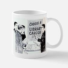 Retro Librarian Mug