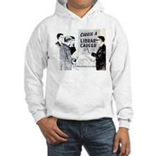 Retro Librarian Hoodie