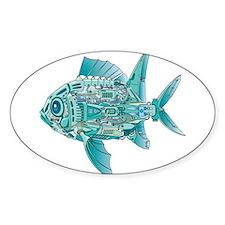 Robot Fish Decal