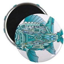 "Robot Fish 2.25"" Magnet (100 pack)"