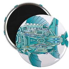 "Robot Fish 2.25"" Magnet (10 pack)"