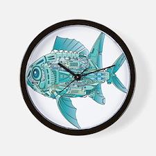 Robot Fish Wall Clock