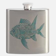 Robot Fish Flask